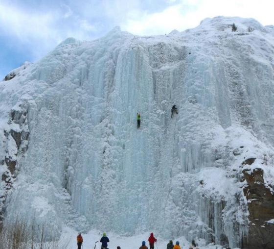 lake city ice climbing