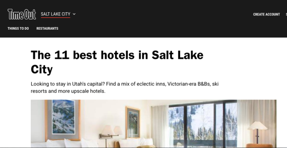 hotels in Salt Lake City